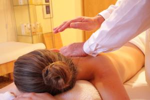 Sesión de masajes